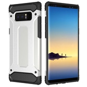 Caseflex Samsung Galaxy Note 8 Armoured Shockproof Carbon Case - Gun Grey