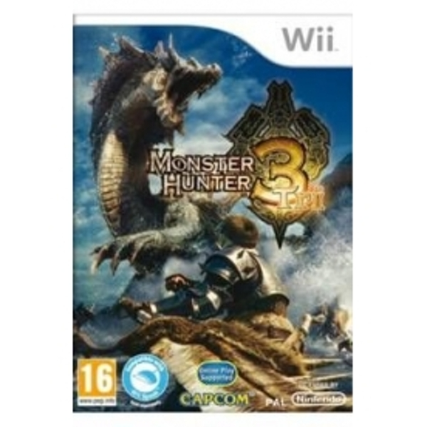 Monster Hunter 3 Tri Solus Game Wii