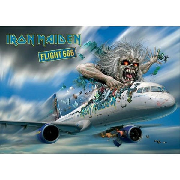 Iron Maiden - Flight 666 Postcard