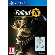 Fallout 76 Special Edition PS4 Game (Includes 3 Pin Badges)