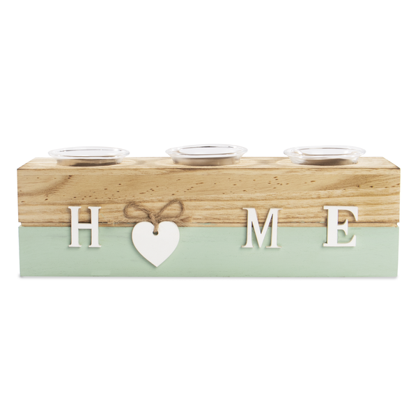 Home Tealight Candle Holder Blue | M&W