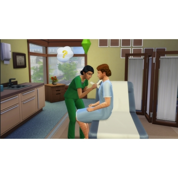 The Sims 4 Get To Work Expansion Pack PC Game (Boxed and Digital Code) - Image 4