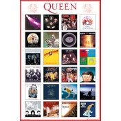 Queen Covers Maxi Poster