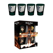 Attack on Titan Season 2 Symbols Shot Glasses