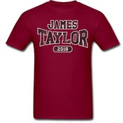 James Taylor - 2018 Tour Logo Men's Medium T-Shirt - Red