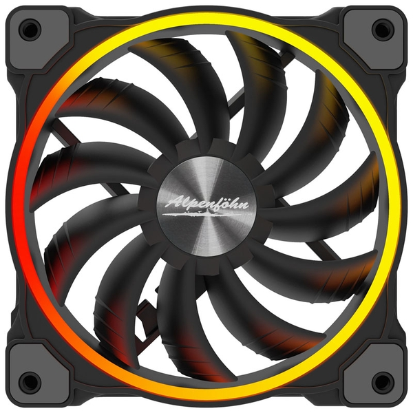 Alpenfohn Wing Boost 3 140mm Addressable RGB PWM Fan