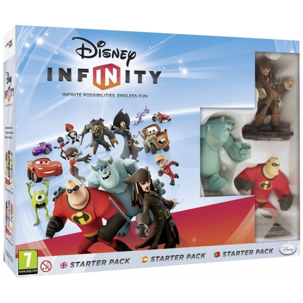 Disney Infinity 1.0 Starter Pack & 3DS Game