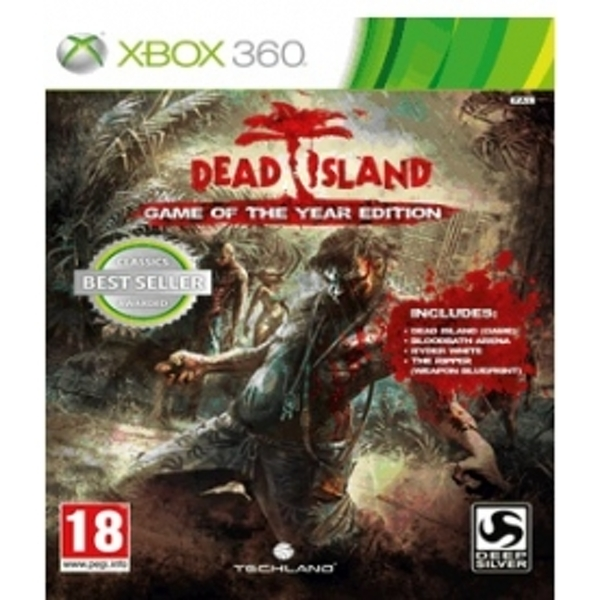 Dead Island Game of the Year (GOTY) Edition Game (Classics) Xbox 360