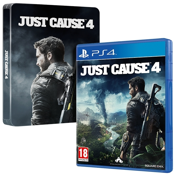 Ex-Display Just Cause 4 + Steelbook PS4 Game Used - Like New