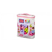 Mega Bloks First Builders Pink 60 piece bag
