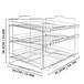 3 Tier Tin Can Rack | M&W - Image 5