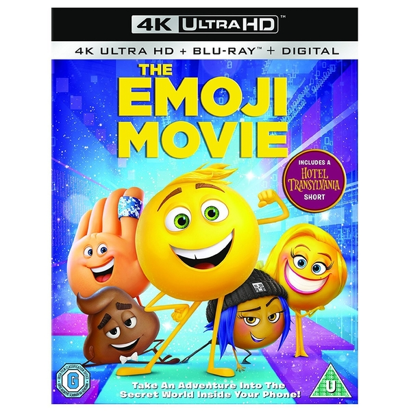 The Emoji Movie 4KUHD Blu-ray