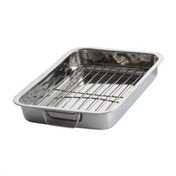 Viners Everyday Stainless Steel Roaster With Rack 41 x 29cm