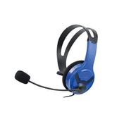 Official Licensed PS4 Wired Chat Headset Blue for PS4
