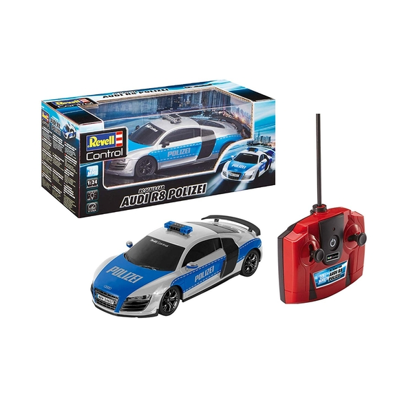 Radio Controlled Audi R8 Police Car By Revell Controll