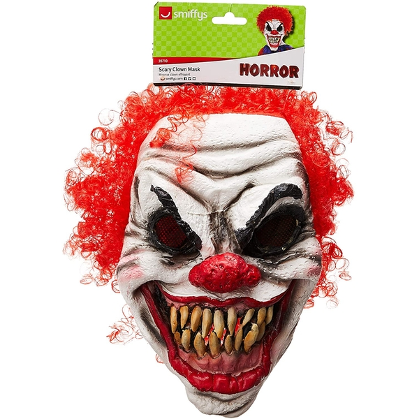 Scary Clown Mask Foam Latex