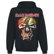 Iron Maiden Final Frontier Big Head Mens Hoodie: Medium