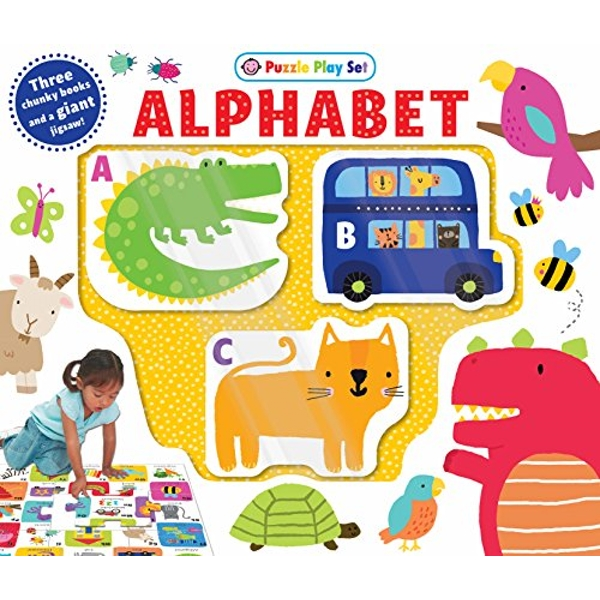 Alphabet Puzzle Playset by Roger Priddy (Board book, 2017)