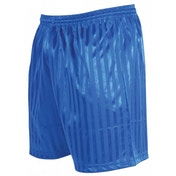 Precision Striped Continental Football Shorts 34-36 inch Royal Blue