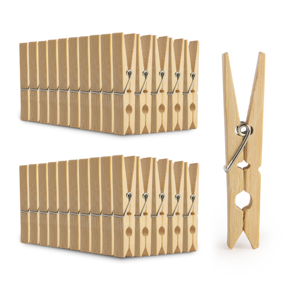 Bamboo Pegs - Pack of 100 | Pukkr