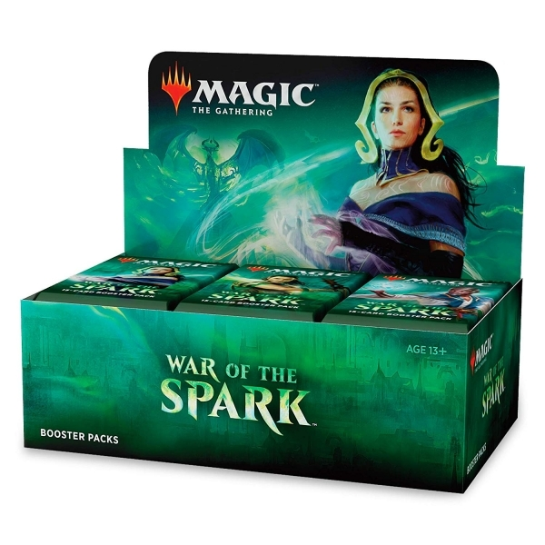 Ex-Display Magic The Gathering War Of The Spark Booster Box (36 Packs) Used - Like New