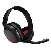 Astro A10 Gaming Headset (Grey/Red) PC PS4 Xbox One and Mobile