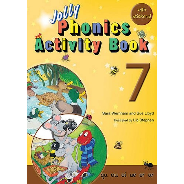 Jolly Phonics Activity Book 7: in Precursive Letters (BE) by Sue Lloyd, Sara Wernham (Paperback, 2010)