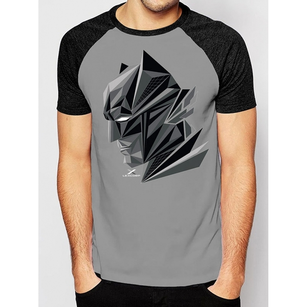 Batman Vs Superman - 3D Head Unisex Small T-Shirt - Grey