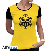 One Piece - Trafalgar Law Women's Large T-Shirt - Yellow