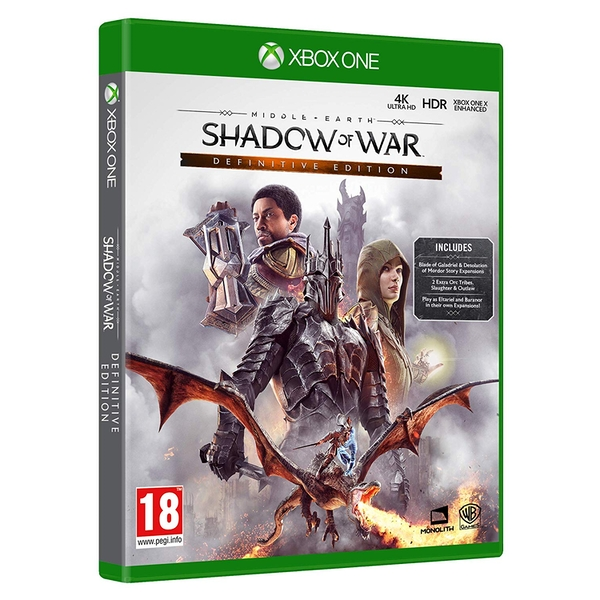 Middle-Earth Shadow of War Definitive Edition Xbox One Game