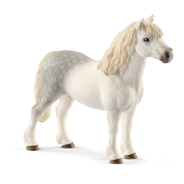 SCHLEICH Farm World Welsh Pony Stallion Toy Figure