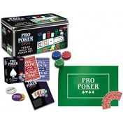 Ex-Display Texas Hold 'Em Pro Poker in Tin Used - Like New