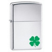 Zippo A Bit O'Luck High Polish Chrome Lighter