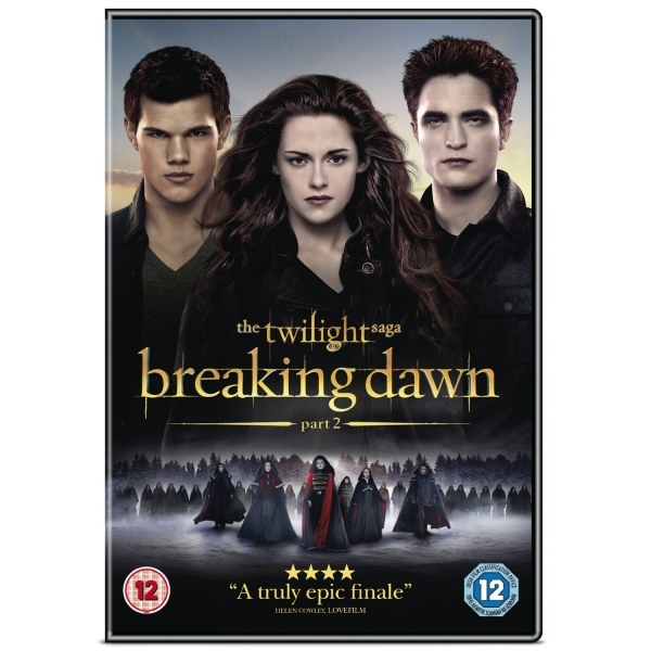 The Twilight Saga Breaking Dawn Part 2 DVD
