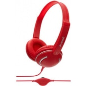 Groov-e GV897RD Streetz Stereo Headphones with Volume Control Red