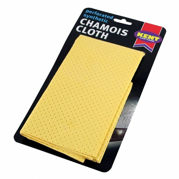 Kent Car Care Synthetic Chamois Cloth on Card (Pack Of 12)