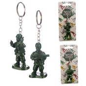 Toy Soldier Keyring (1 Random Supplied)