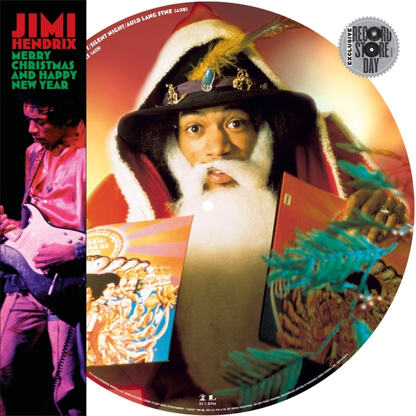Jimi Hendrix - Merry Christmas & Happy New Year (Picture Disc) (Numbered) (Black Friday 2019) Vinyl