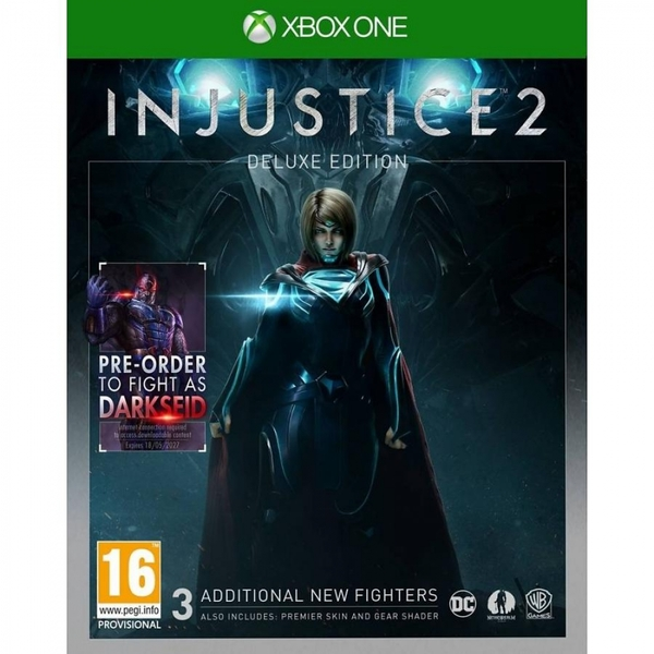 Injustice 2 Deluxe Edition Xbox One Game (Darkseid DLC)