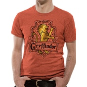 Harry Potter - Brave Men's XX-Large T-Shirt - Red