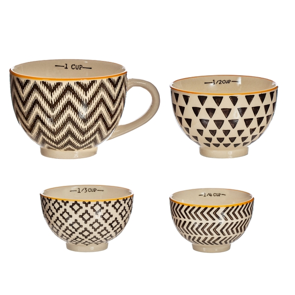 Sass & Belle Geometric Measuring Bowls