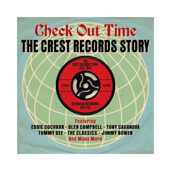 Various Artists - Check Out Time: The Crest Records Story 1955-1962 CD