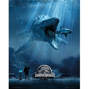 Jurassic World Mosa One Sheet Mini Poster