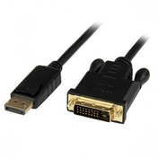 StarTech 3ft DisplayPort to DVI Active Adapter Converter Cable (Black)