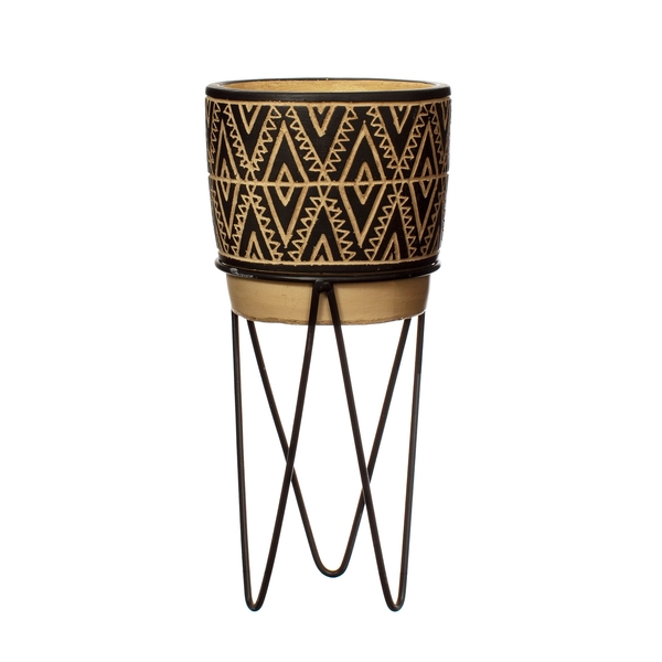 Sass & Belle Nomad Planter with Wire Stand