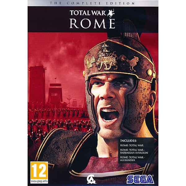 Rome Total War Complete Edition PC Game - ozgameshop.com