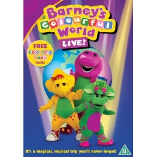 Barney Colourful World Live DVD