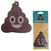 Emotive Poop Design Chocolate Scented (Pack Of 6) Air Freshener