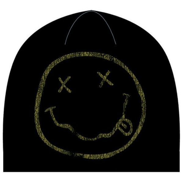 Nirvana - Smiley Beanie Hat
