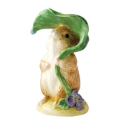 Beatrix Potter Peter Rabbit Timmy Willie Under Leaf Classic Figure